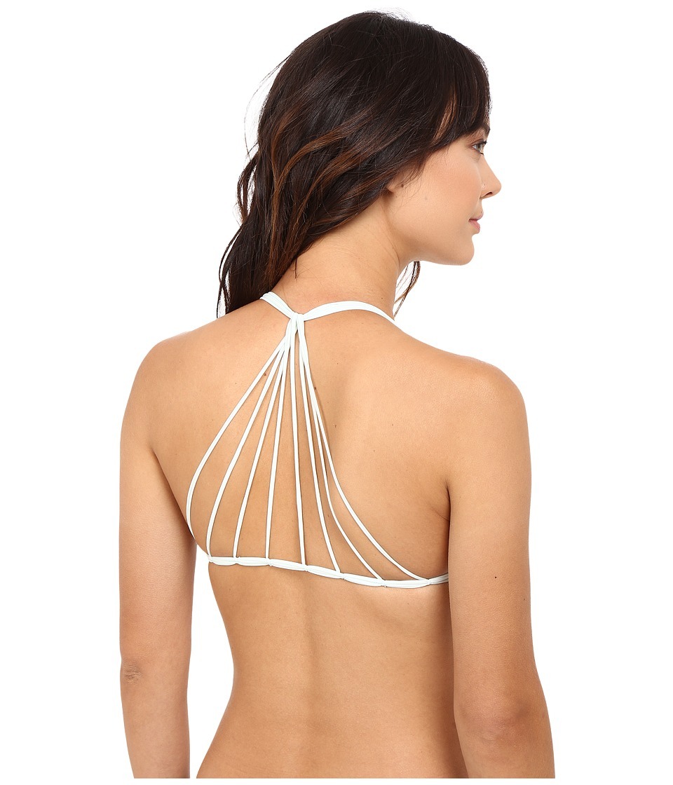 MIKOH SWIMWEAR - Banyans Top (Seawater) Women's Swimwear