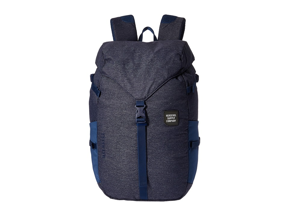 Herschel Supply Co. - Barlow Large (Denim) Backpack Bags