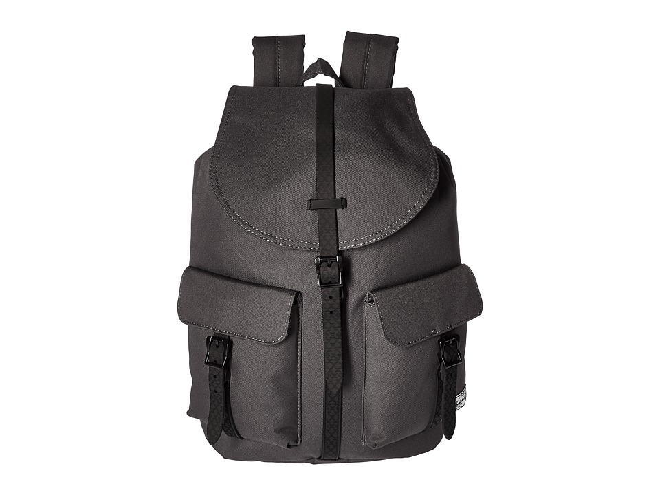 Herschel Supply Co. - Dawson (Charcoal/Black Native Rubber) Bags