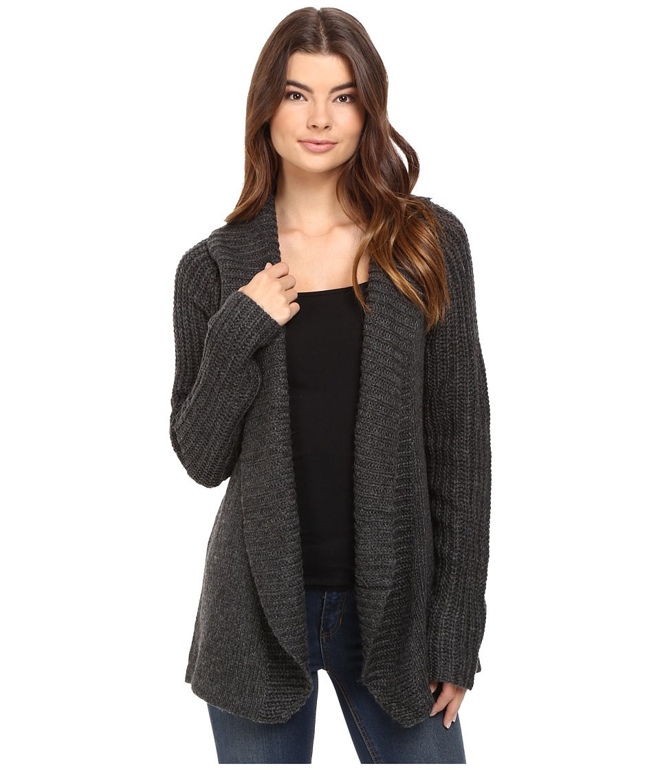 Burton - Adele Cardi (True Black Heather) Women's Sweater