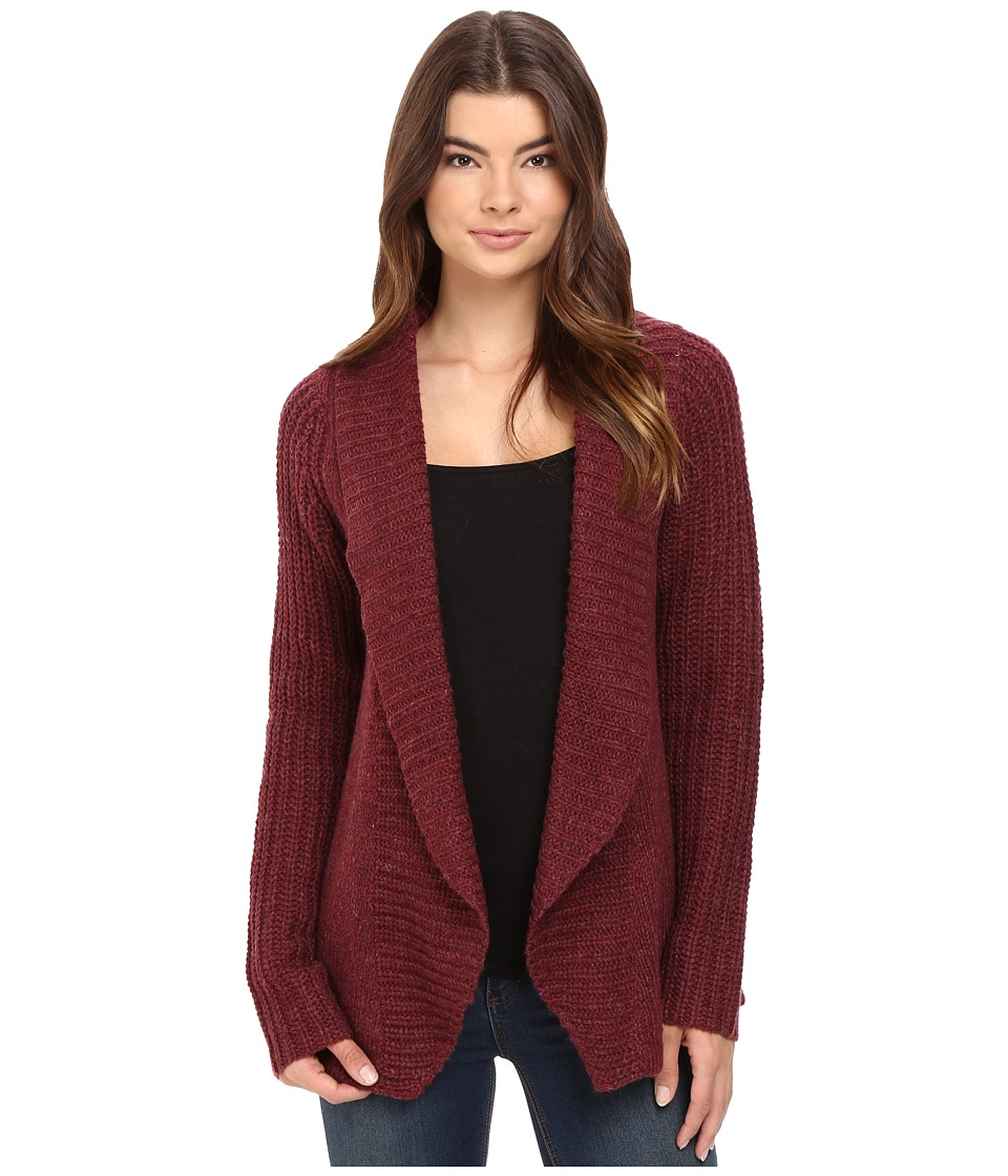 Burton - Adele Cardi (Sangria Heather) Women's Sweater
