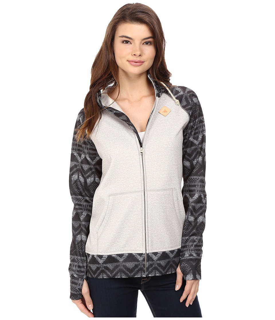 Burton - Scoop Hoodie (Dove Heather) Women's Sweatshirt