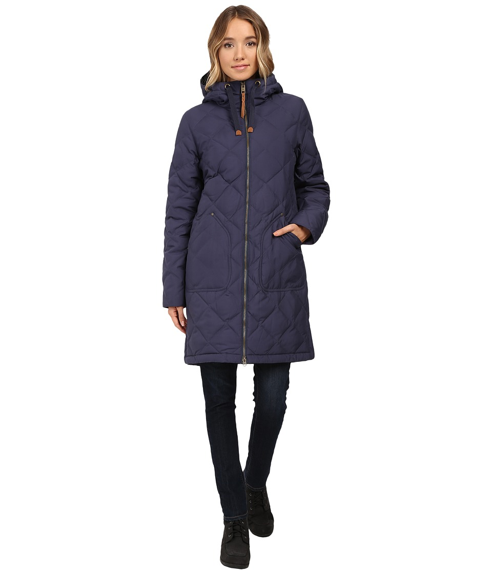 Burton - Bixby Long Down Jacket (Mood Indigo) Women's Coat