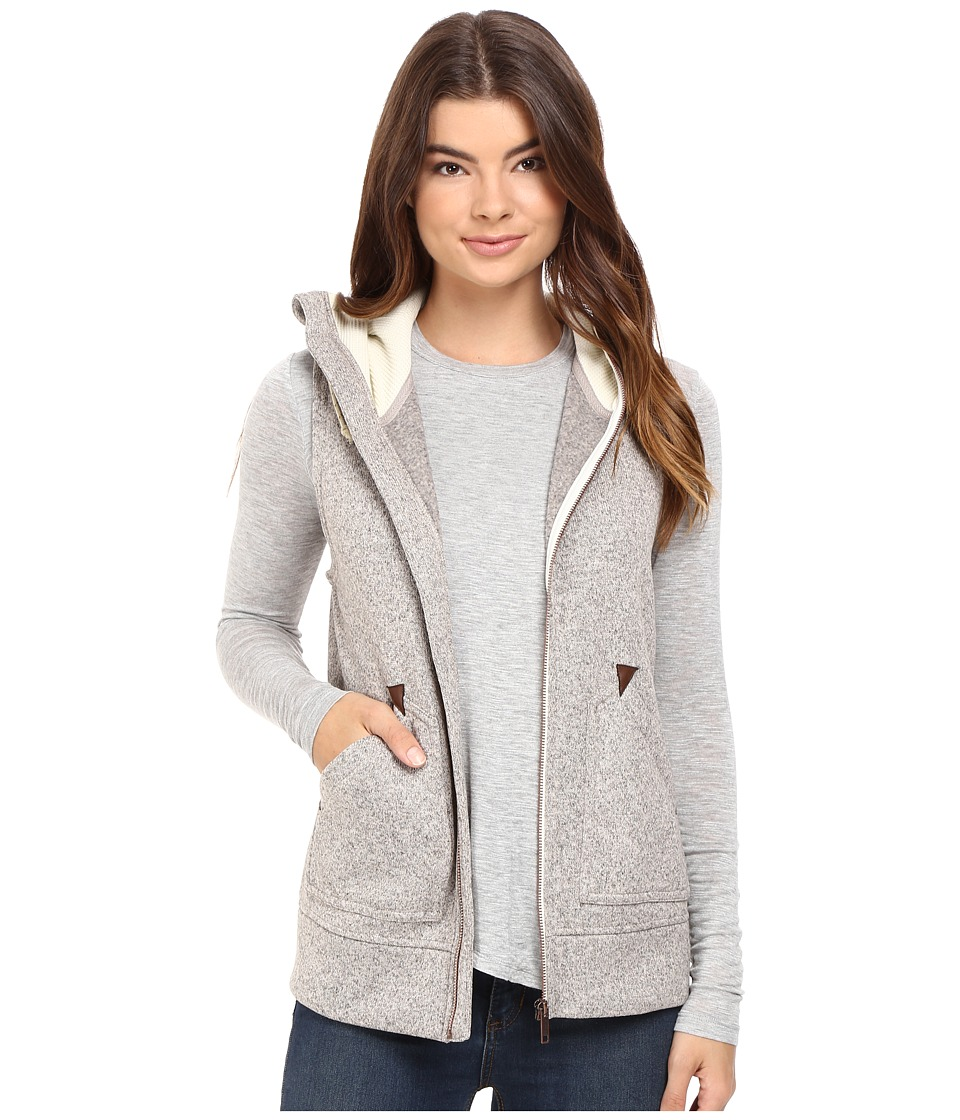 Burton - Starr Vest (Dove Heather) Women's Fleece