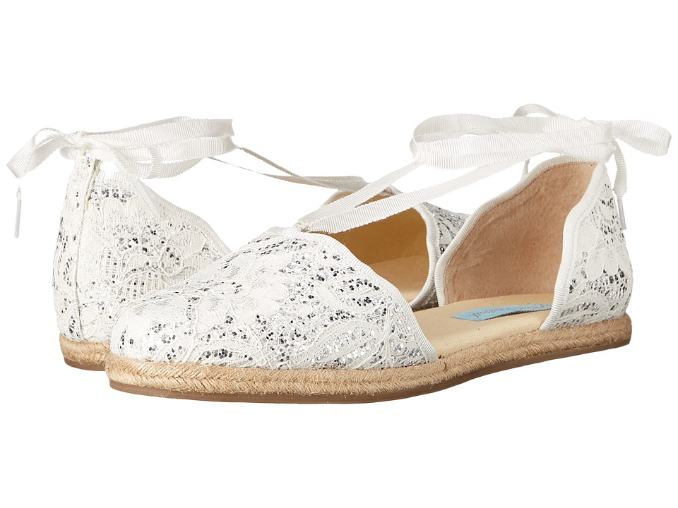 Blue by Betsey Johnson - Riley (Ivory Glitter) Women's Shoes