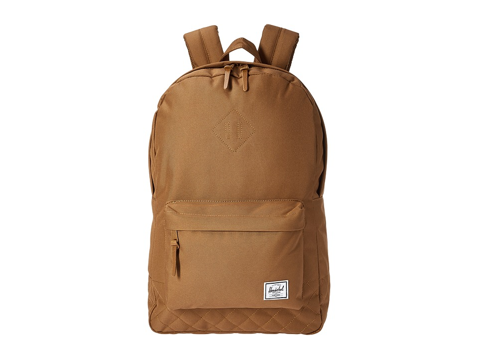 Herschel Supply Co. - Heritage (Caramel Quilted) Backpack Bags