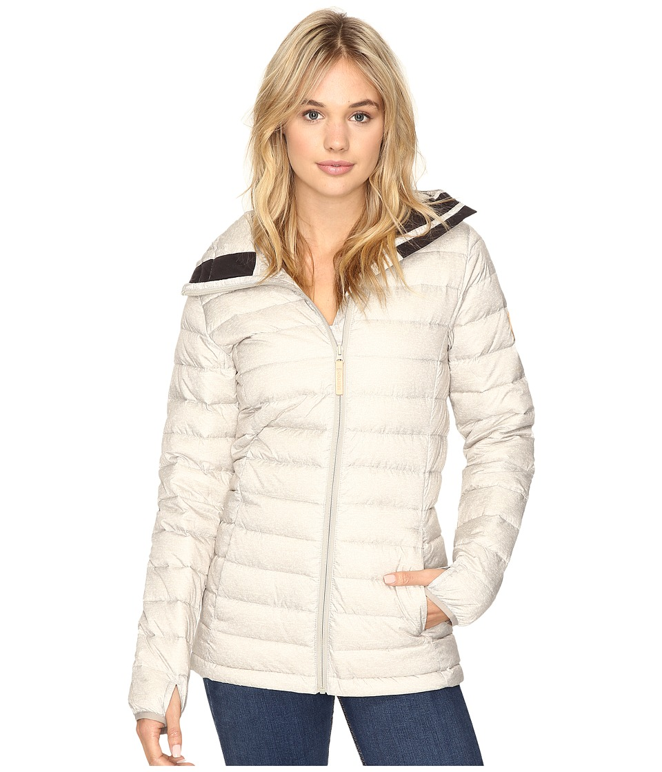 Burton - Evergreen Hooded Down Insulator Jacket (Dove Heather) Women's Jacket