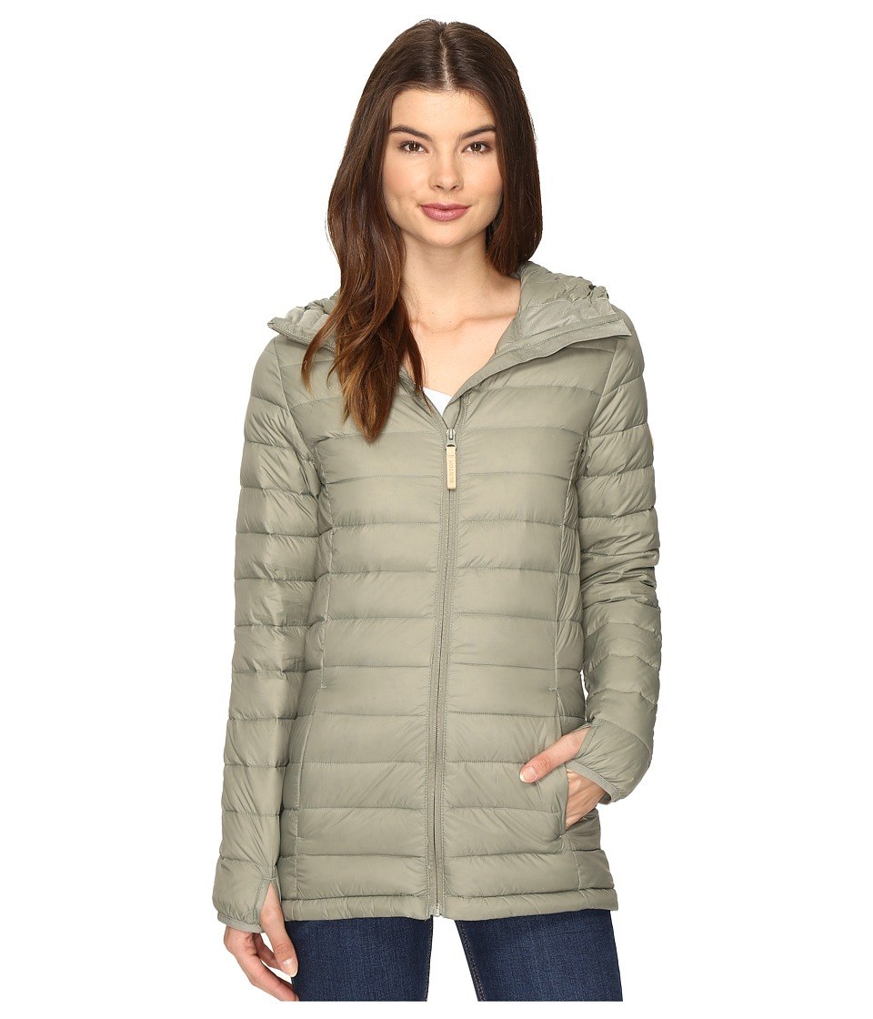 Burton - Evergreen Hooded Down Insulator Jacket (Vetiver) Women's Jacket