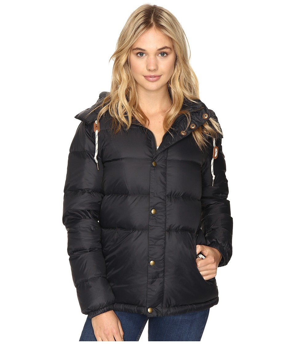 Burton - Heritage Puffy Jacket (True Black) Women's Coat