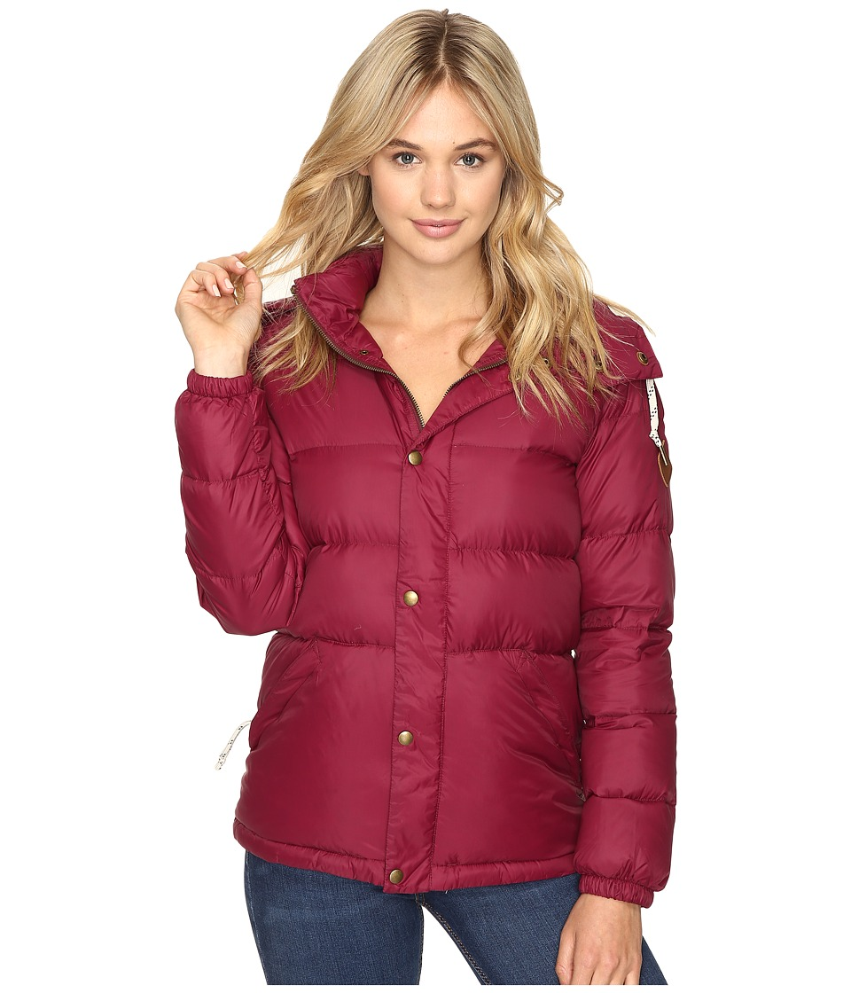 Burton - Heritage Puffy Jacket (Sangria) Women's Coat