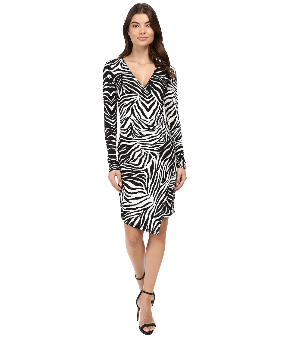Hale Bob - Hear Me Roar Dress (Black/White) Women's Dress