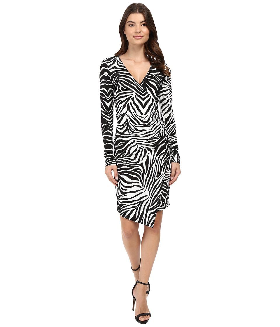 Hale Bob - Hear Me Roar Dress (Black/White) Women's Dress