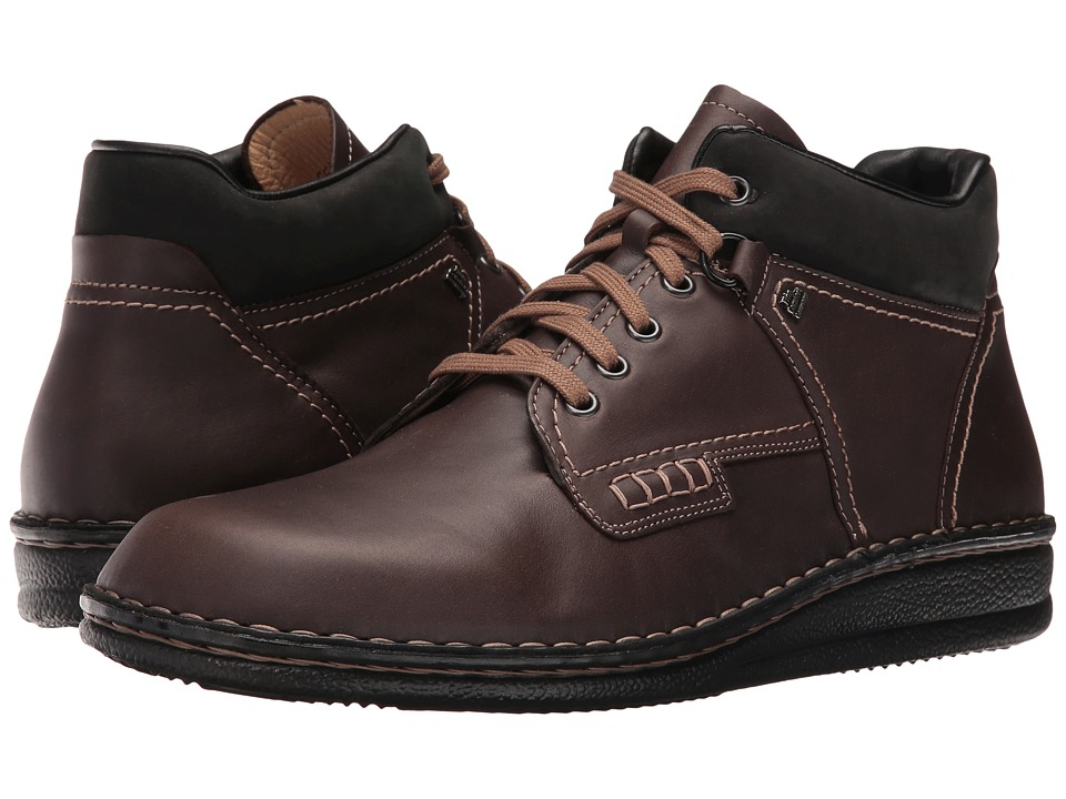 Finn Comfort Linz (Kaffee/Black Gilda/Buggy) Lace up casual Shoes