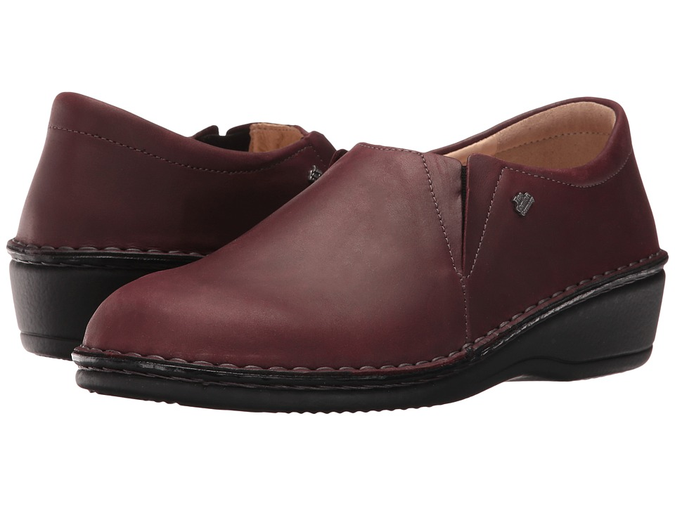 Finn Comfort - Newport (Bordo Algave) Women's Slip on Shoes