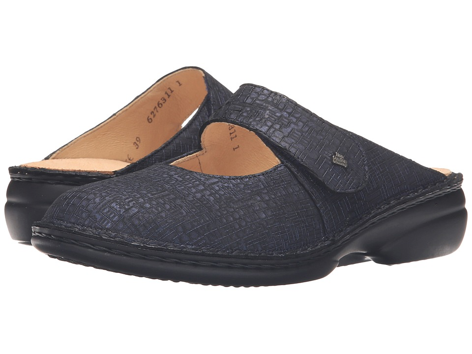 Finn Comfort - Stanford (Notte Cris) Women's Clog/Mule Shoes