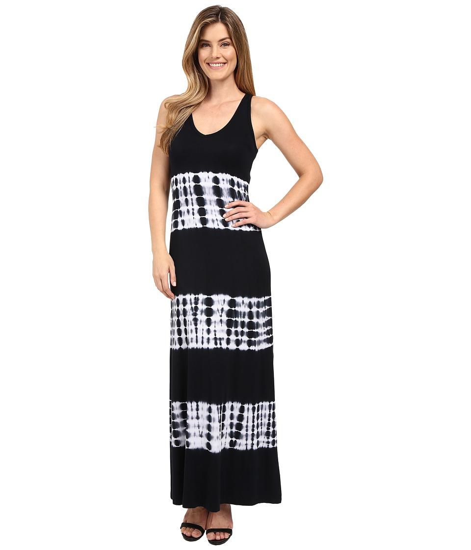 Karen Kane - V-Neck Maxi Dress (Navy) Women's Dress
