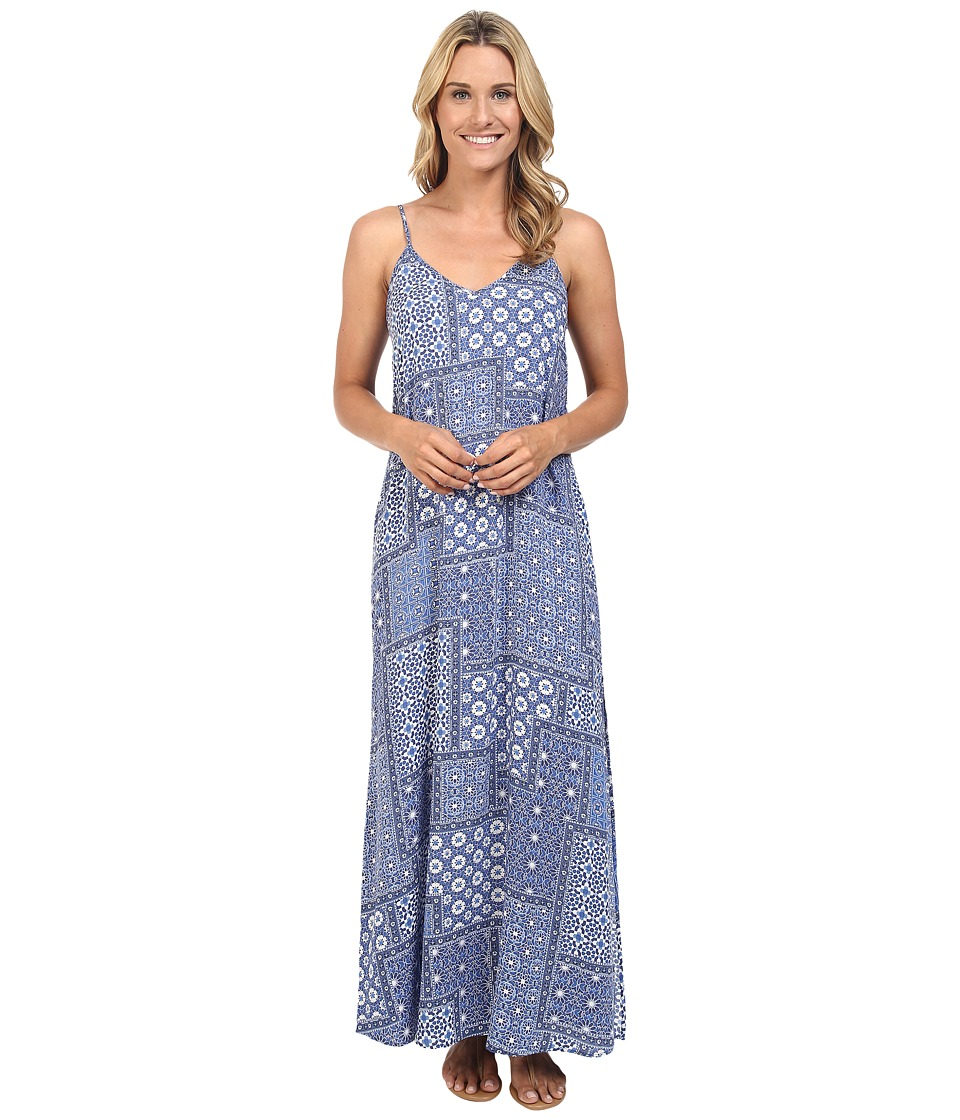 Karen Kane - Double V Maxi Dress (Print) Women's Dress