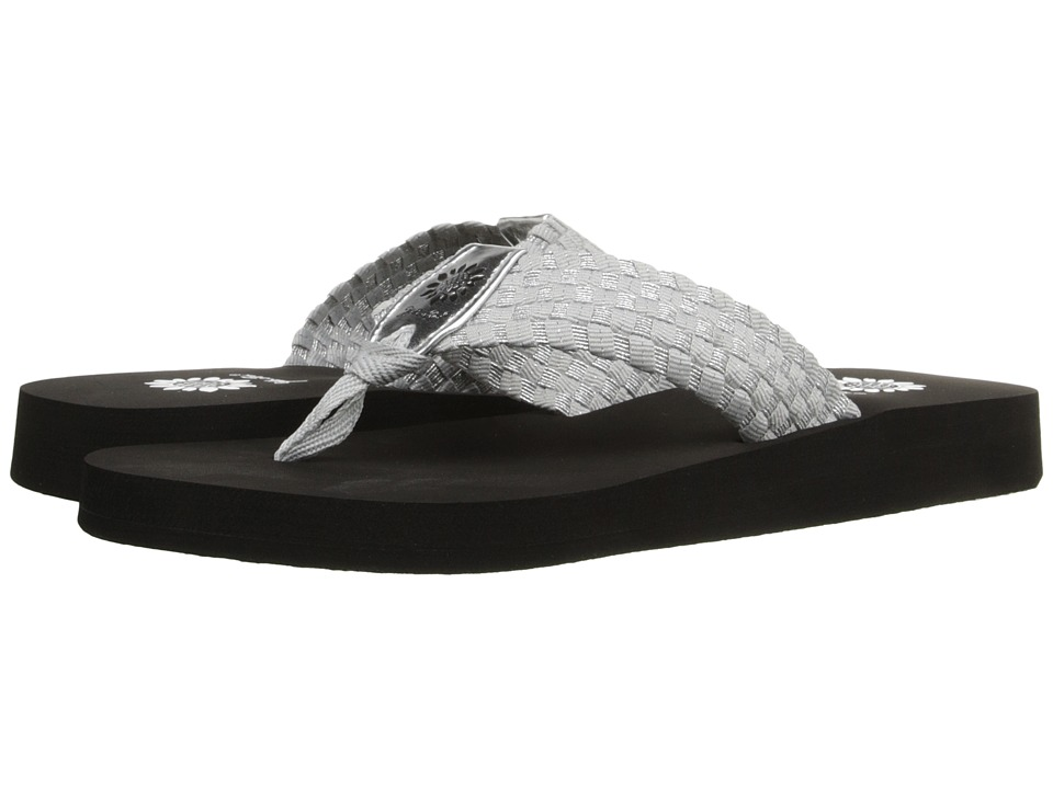 Yellow Box - Soleil (Black/Silver) Women's Sandals