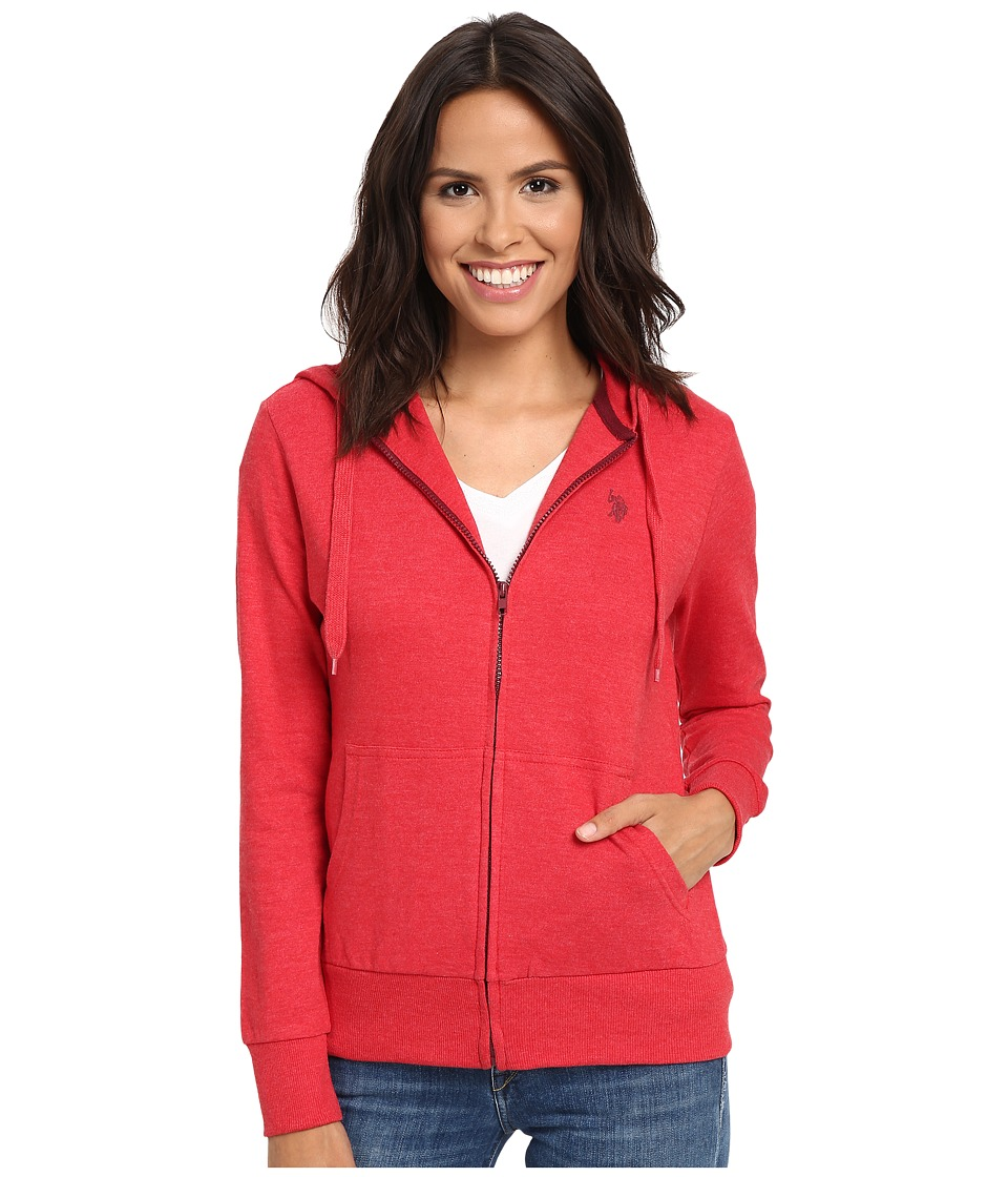 U.S. POLO ASSN. - Easy Hoodie (Racing Red) Women's Sweatshirt