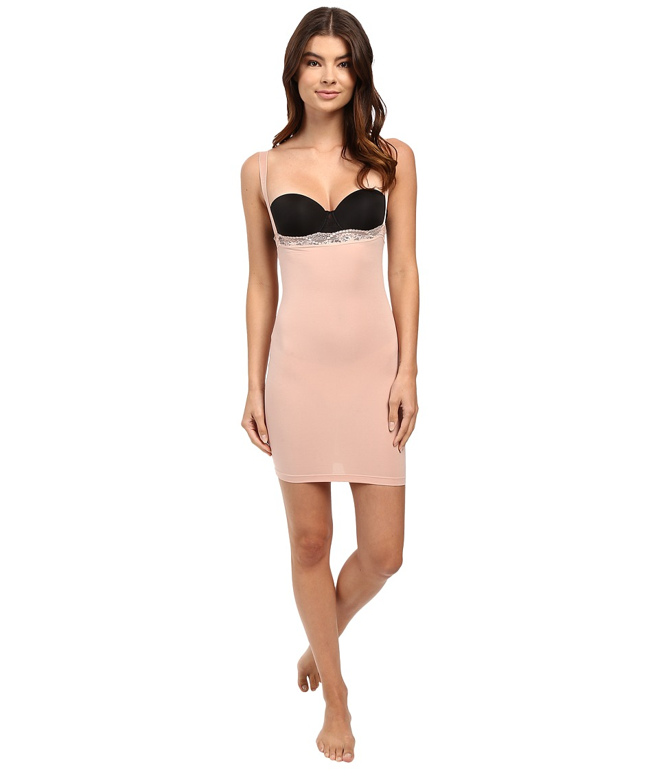 Wolford - Cotton Contour Lace Form Dress (Rose Tan) Women's Lingerie