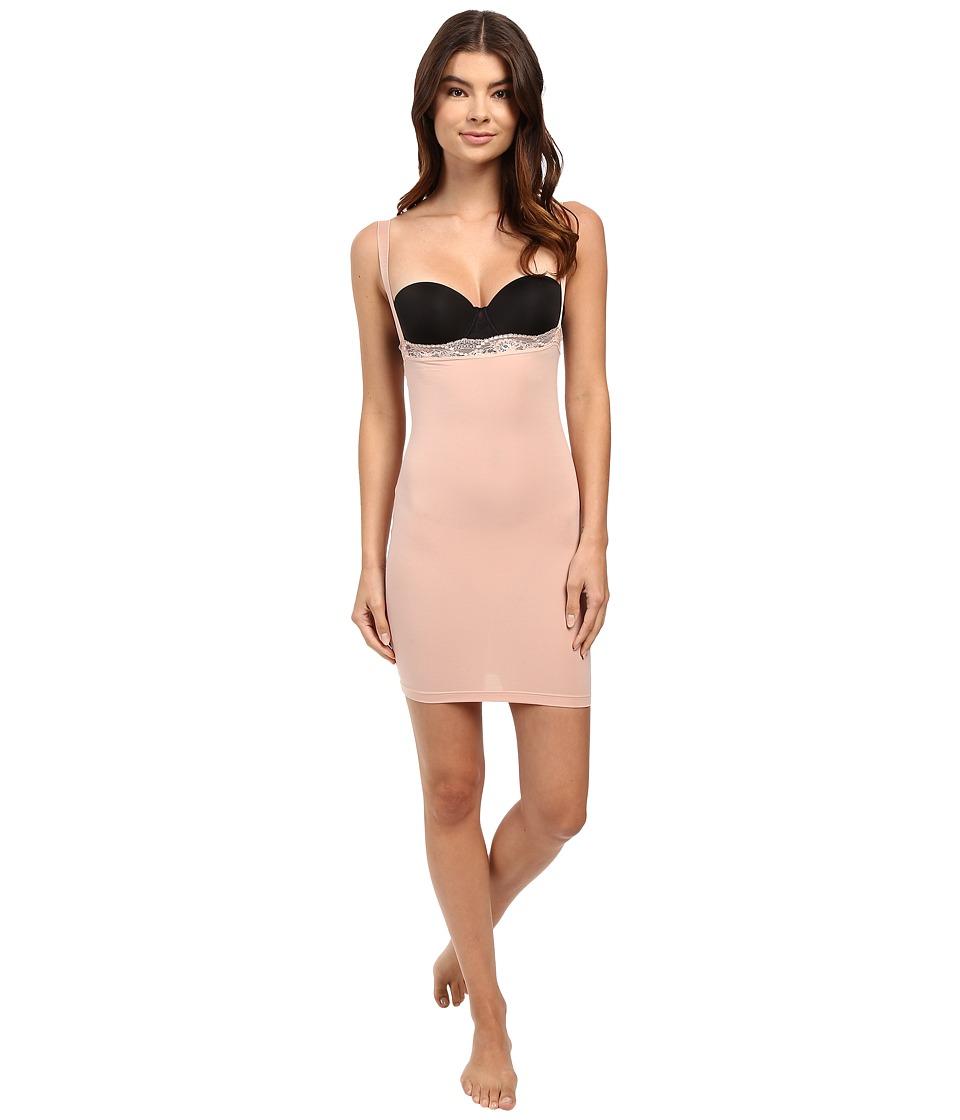 Wolford - Cotton Contour Lace Form Dress (Rose Tan) Women's Lingerie
