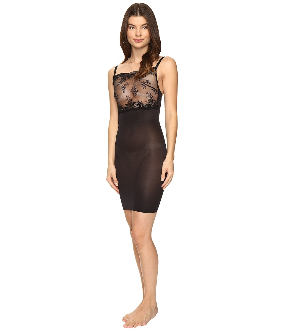 Wolford - Filigra Lace Forming Dress (Black) Women's Lingerie