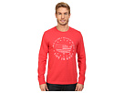 Land Of The Free USA Map Long Sleeve Crusher Tee