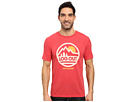 Life is Good - Log Out Circle Mountain Cool Tee