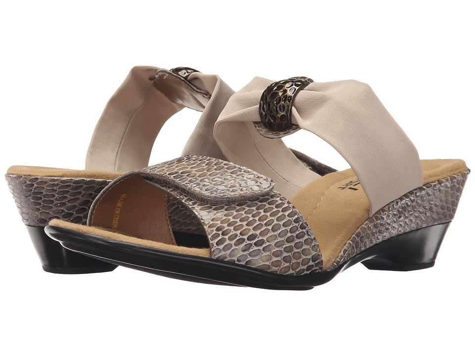 Vaneli - Neva (Taupe Per Print) Women's Shoes