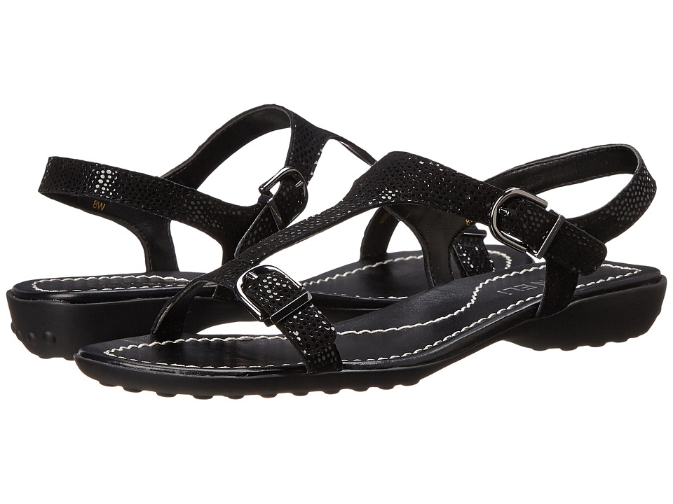 Vaneli - Taletha (Black E-Print) Women's Dress Sandals