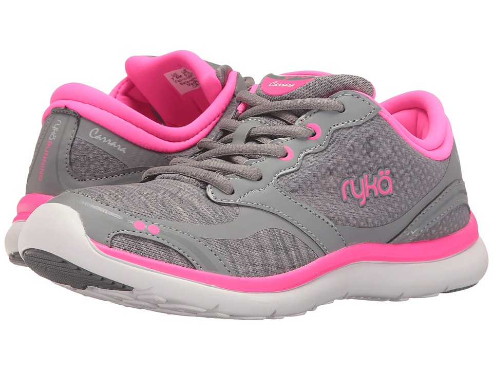 Ryka - Carrara (Summer Grey/Frost Grey/Neon Flamingo) Women's Shoes