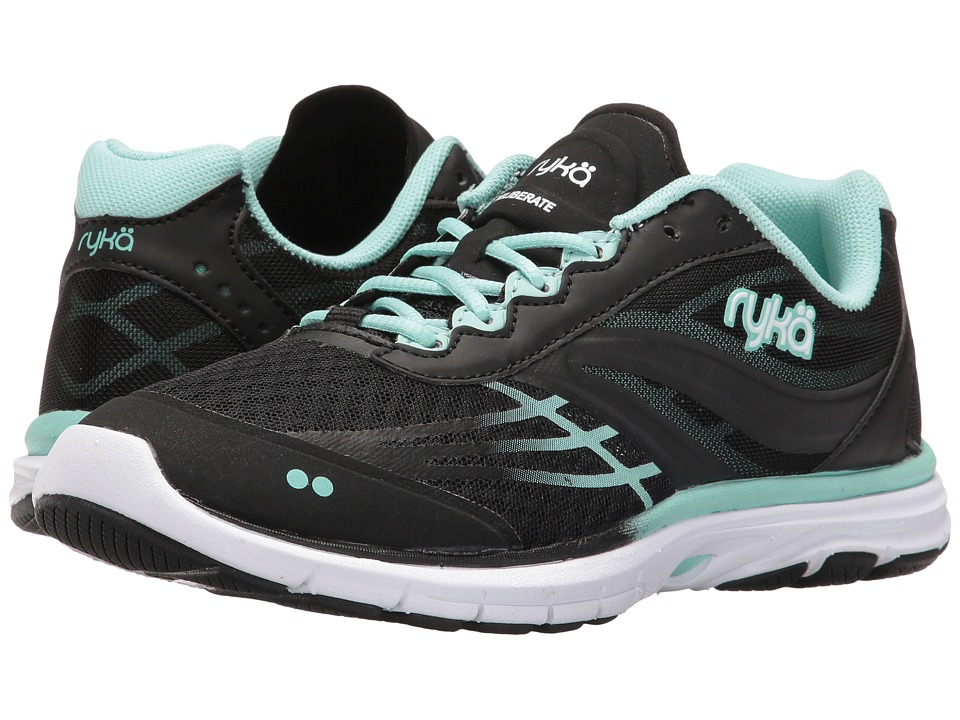 Ryka Deliberate (Black/Yucca Mint/White) Women