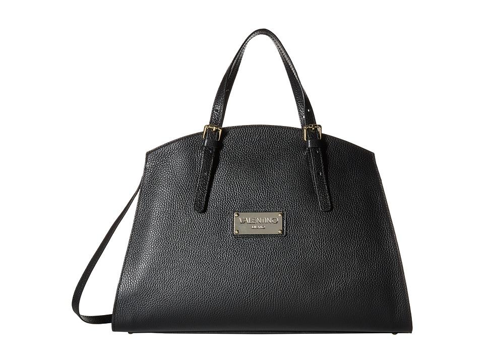 Valentino Bags by Mario Valentino - Cecile (Black) Satchel Handbags