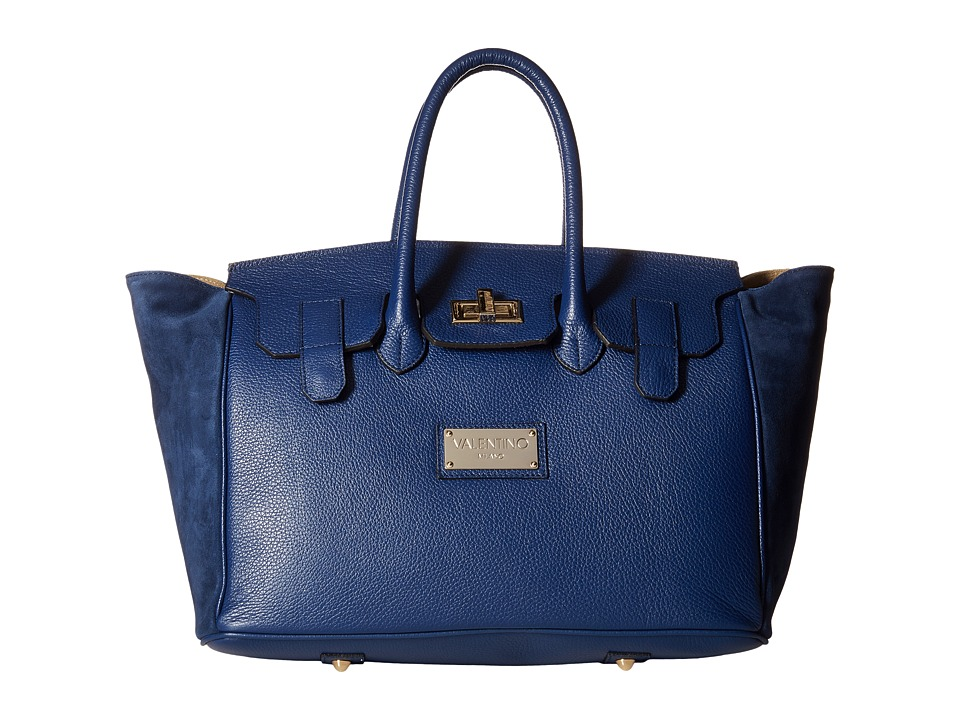 Valentino Bags by Mario Valentino - Omia (Blue Denim) Handbags