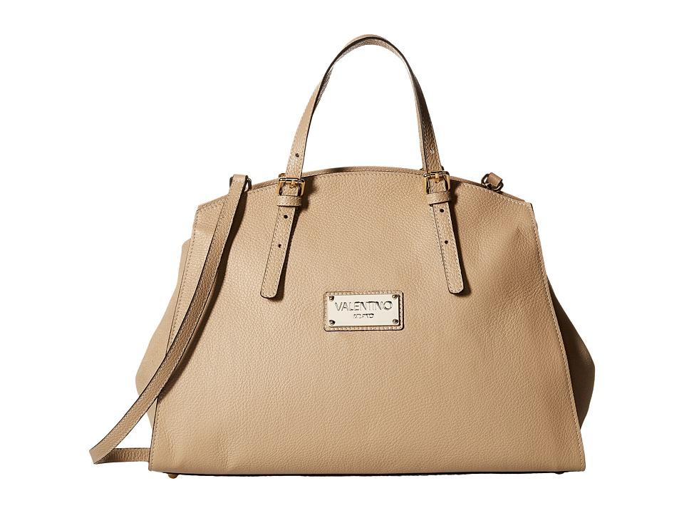 Valentino Bags by Mario Valentino - Cecile (Caramello) Satchel Handbags