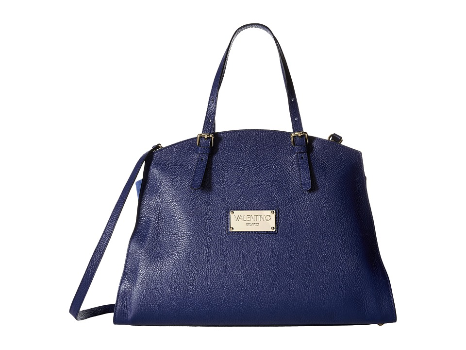 Valentino Bags by Mario Valentino - Cecile (Blue Denim) Satchel Handbags