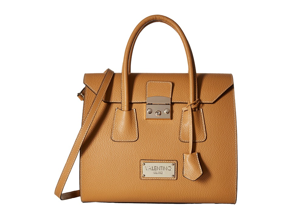 Valentino Bags by Mario Valentino - Brito (Whiskey) Satchel Handbags