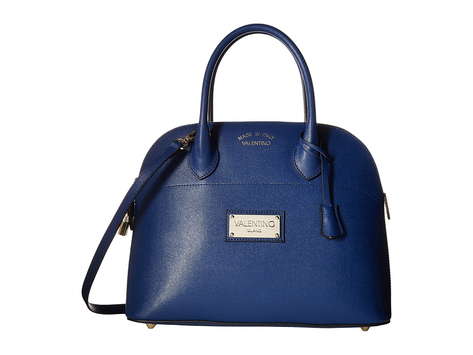 Valentino Bags by Mario Valentino - Copia (Blue Denim) Satchel Handbags