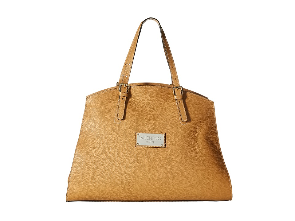 Valentino Bags by Mario Valentino - Cecile (Whiskey) Satchel Handbags