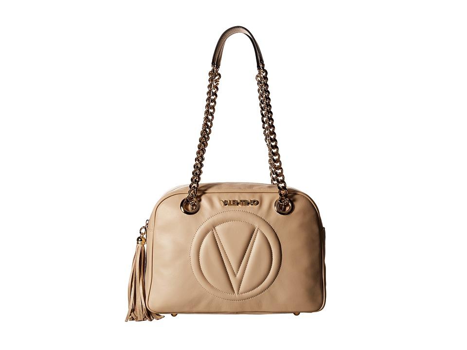 Valentino Bags by Mario Valentino - Madona (Cappucino) Handbags