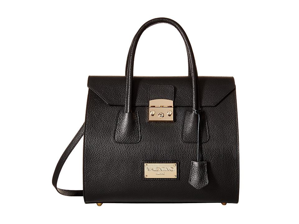 Valentino Bags by Mario Valentino - Brito (Black) Satchel Handbags