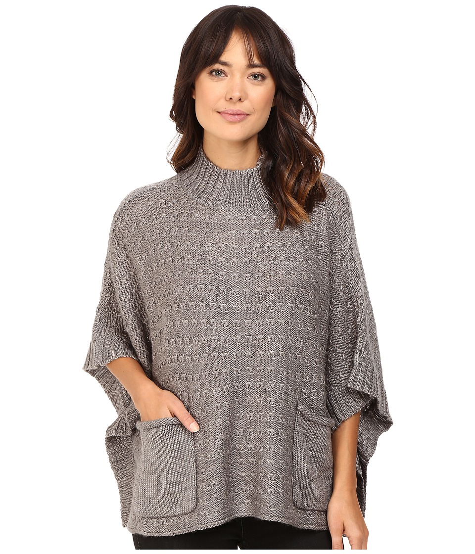 LAmade - Lennox Poncho (Charcoal) Women's Clothing