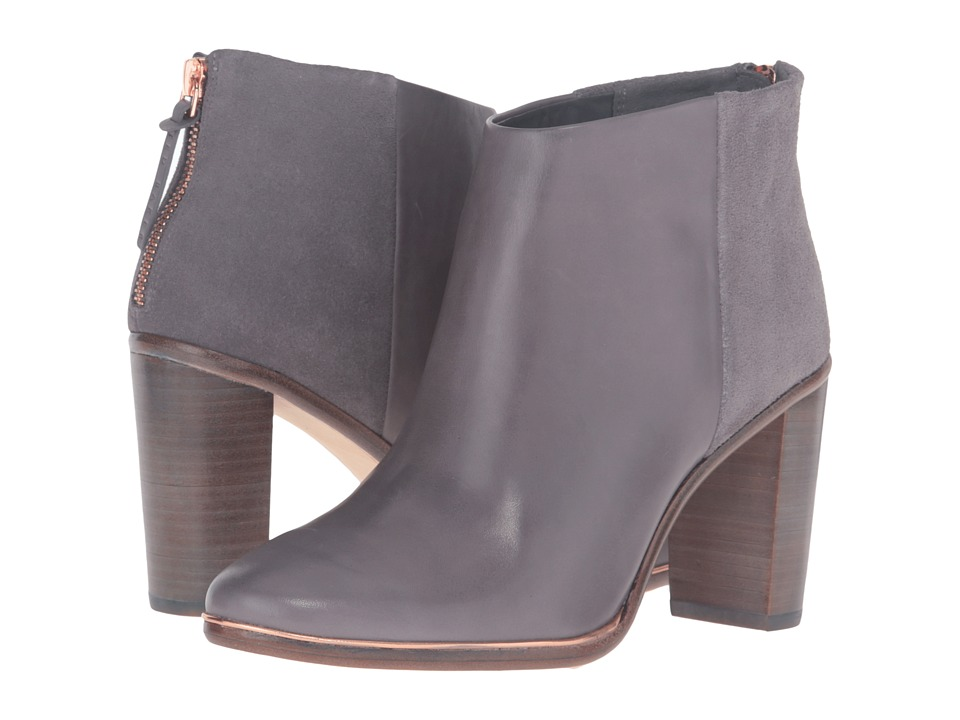 Ted Baker - Lorca 3 (Dark Grey Leather/Suede) Women's Boots