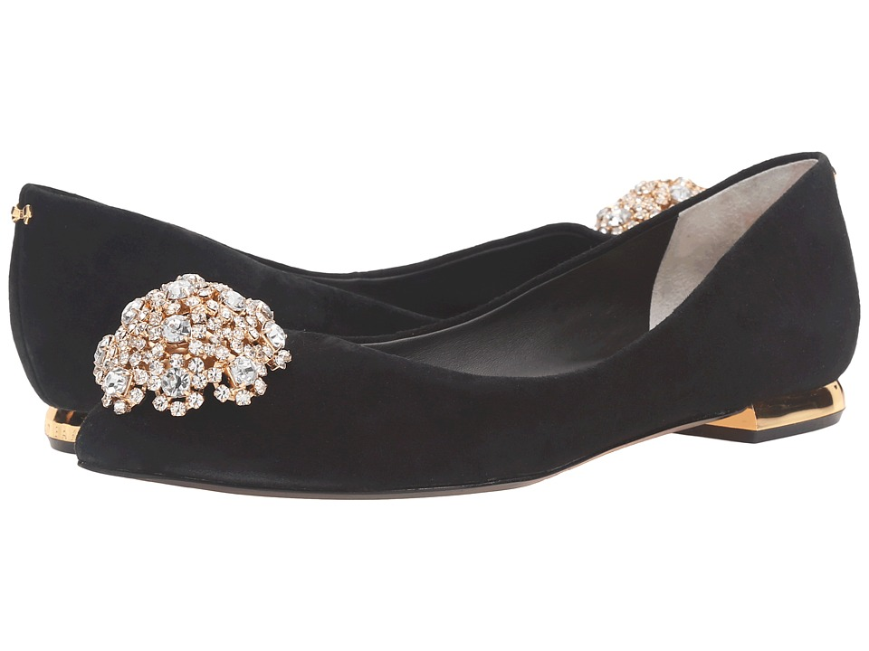 Ted Baker - Ljana (Black Suede) Women's Flat Shoes