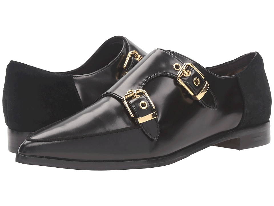 Ted Baker - Naoi (Black Box Leather/Suede) Women's Flat Shoes
