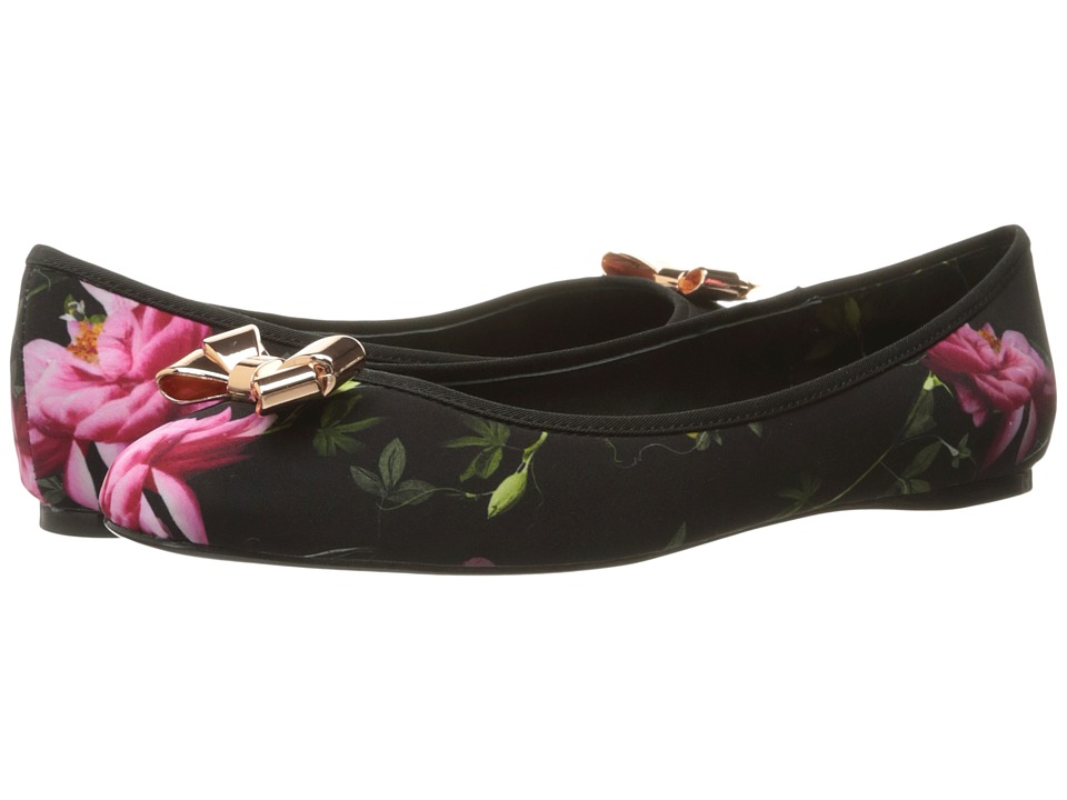 Ted Baker - Imme 2 (Citrus Bloom Satin) Women's Flat Shoes