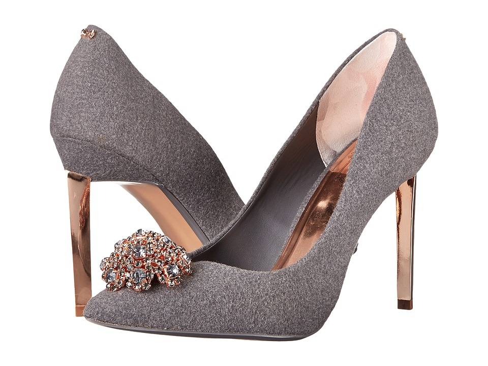 Ted Baker - Peetch (Grey Wool) High Heels