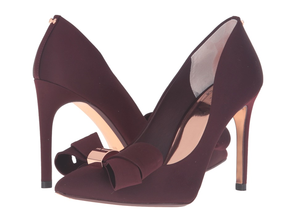 Ted Baker - Ichlibi (Burgundy Satin) High Heels