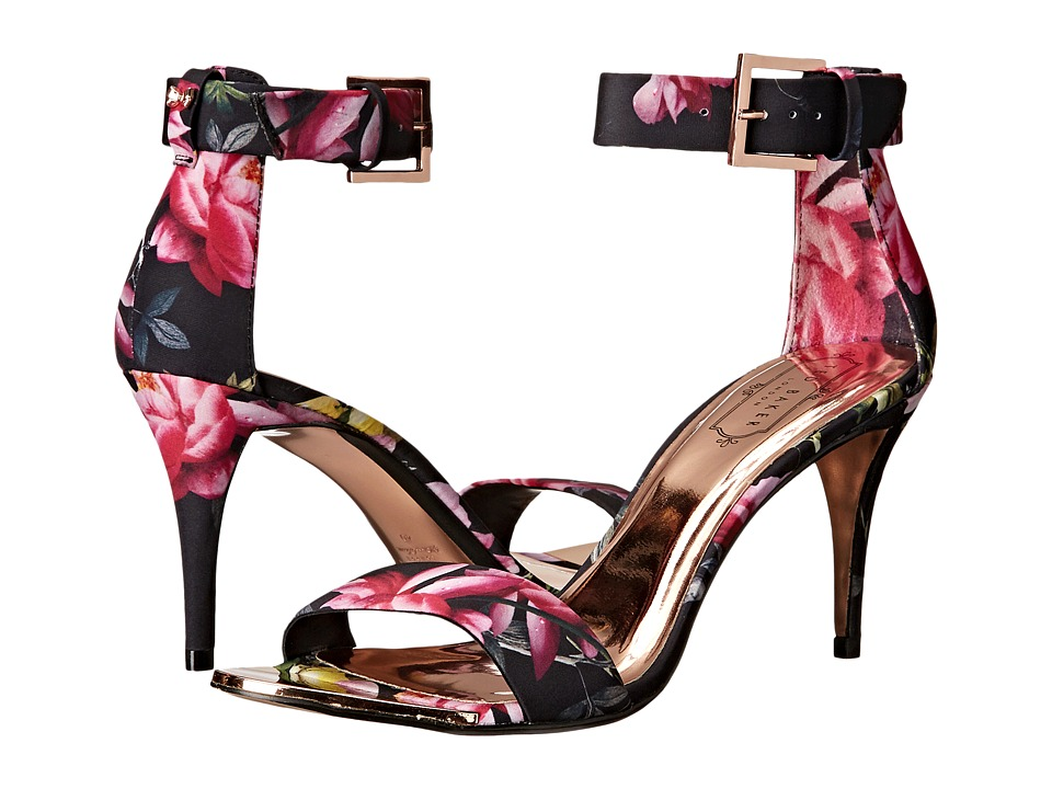 Ted Baker - Blynne (Citrus Bloom Satin) Women's Sandals