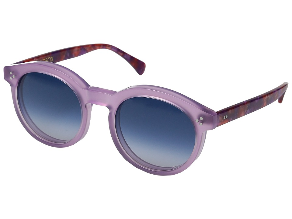 Wildfox - Harper (Wildflower/Blue Gradient) Fashion Sunglasses